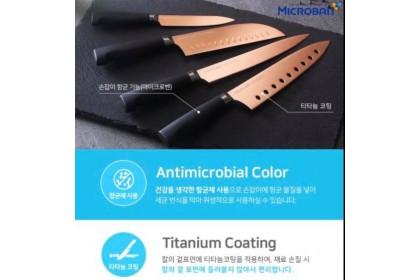 Neoflam 韓國製 玫瑰金刀 4入