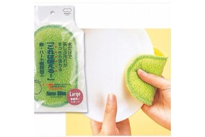 [Pre Order ] 日本 Marna 雙面清洗菜瓜布  #柯以柔妈咪强力推荐